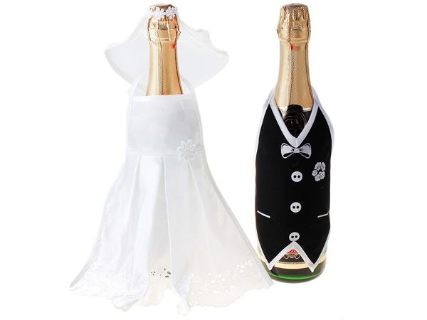 Костюм для шампанского жених и невеста своими руками 1