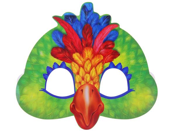 Как сделать маску для попугая