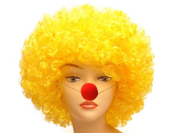 Как сделать парик клоуна пошагово