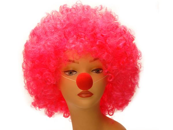 Как сделать парик в домашних условиях для клоуна